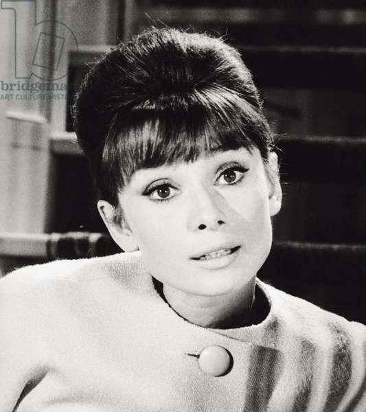 Audrey Hepburn in 'Paris - When It Sizzles'