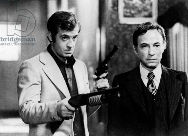 Jean-Paul Belmondo and Bruno Cremer in Hunter Will Get You