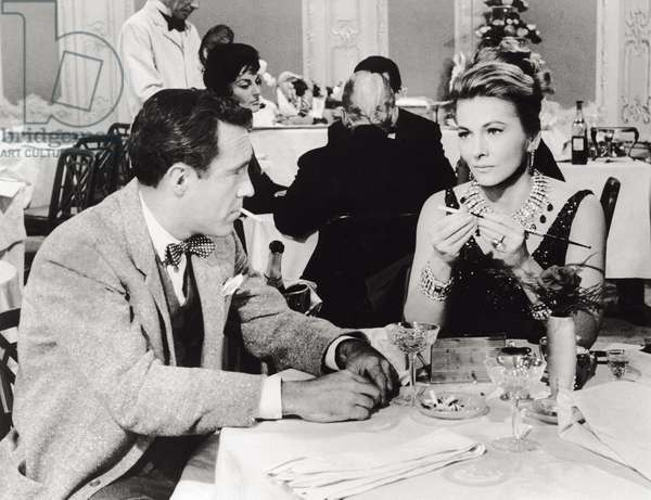 Jason Robards and Joan Fontaine in 'Tender Is The Night'