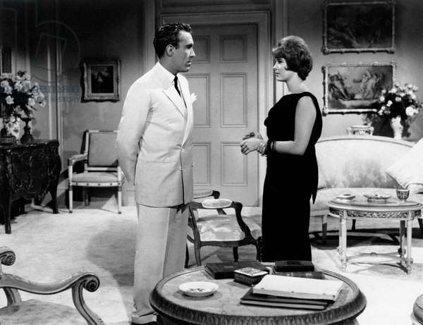 Jason Robards Jr. and Jill St. John in 'Tender is the night'