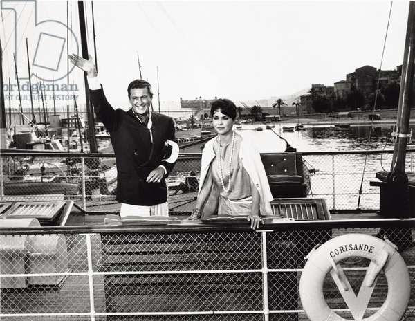 Jennifer Jones and Cesare Danova
