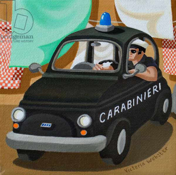 Going Undercover, 2010 (oil on canvas)