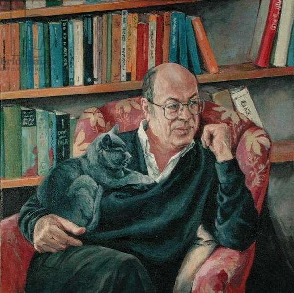 Jerry Kuehl, 1996 (oil on canvas)
