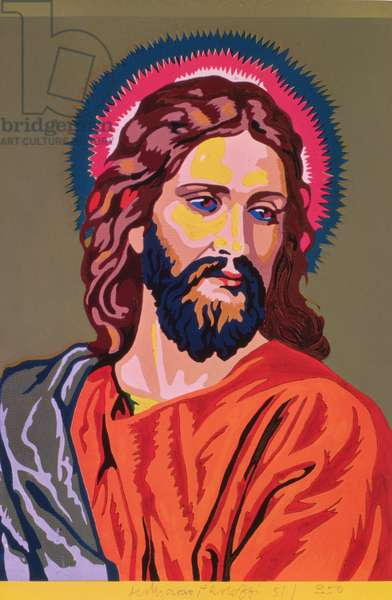 Jesus, Colour by Numbers, from the F.U.N. series, late 1960's (photolitho)