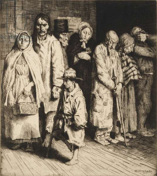 The Cause of the Poor (etching)