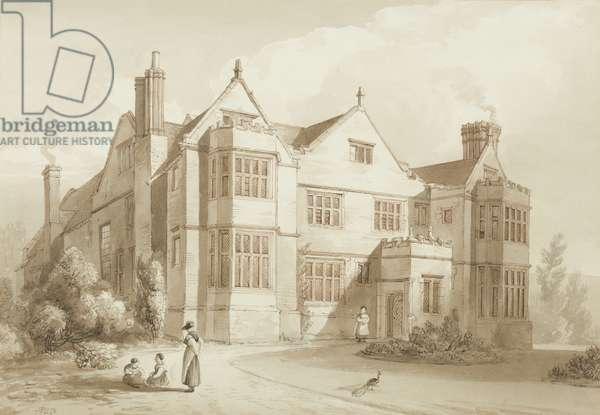 Whitten Court, near Ludlow (pen & ink on paper)