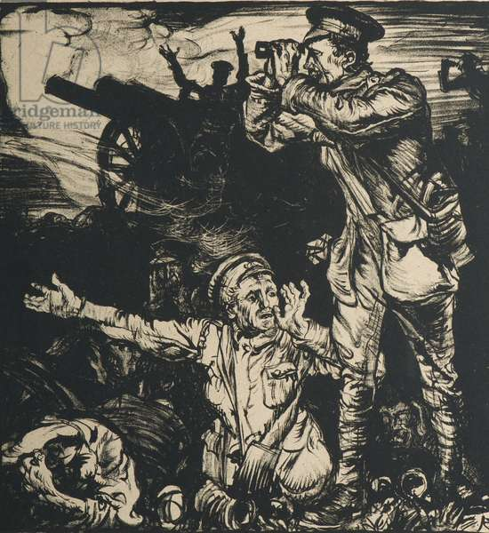From the Trenches (litho)