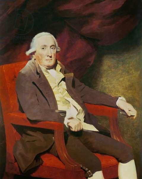 Portrait of William Fairlie of Fairlie (1754-1825) (oil on canvas)