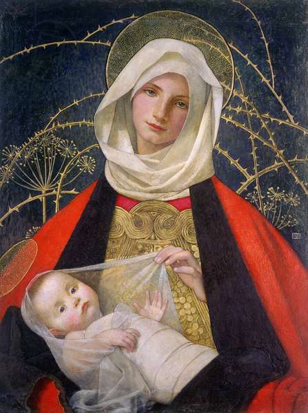 Madonna and Child, 1907-08 (tempera on panel)