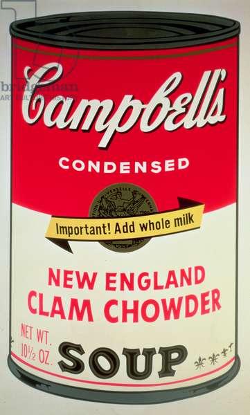 Campbell's Soup, 1968 (screenprint)