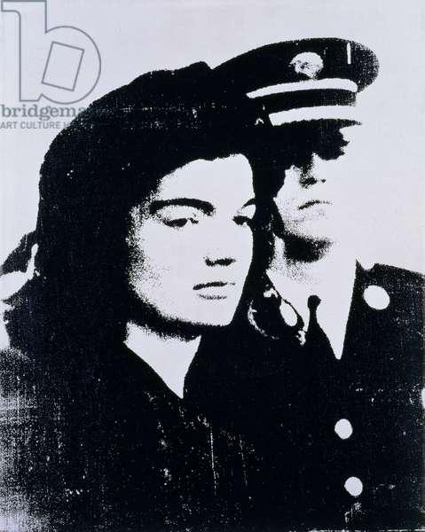 Jacqueline, 1964 (silkscreen on canvas)