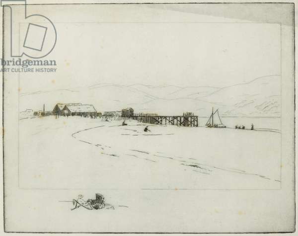The Pier (etching)