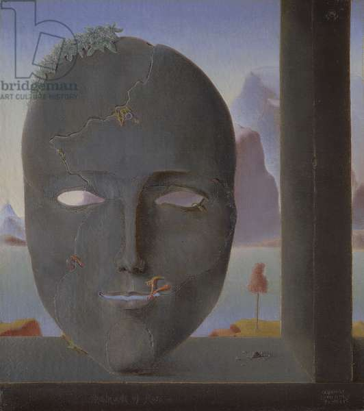 The Mask of Flora, 1931 (oil on canvas)