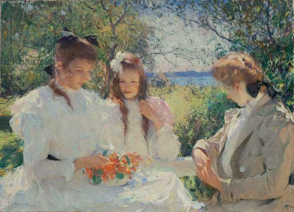 Portrait of my Daughters, 1907 (oil on canvas)