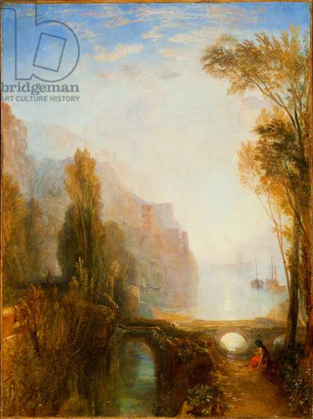 Banks of the Loire (oil on canvas)