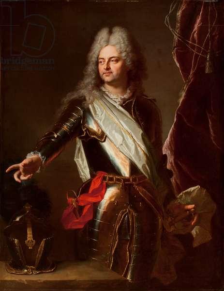 Charles-Auguste d'Allonville, Marquis de Louville (oil on canvas)