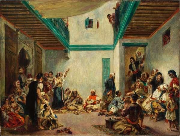 The Jewish Wedding (oil on canvas)