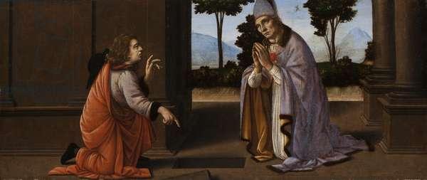 A Miracle of Saint Donato of Arezzo, c.1479-85 (tempera on panel)