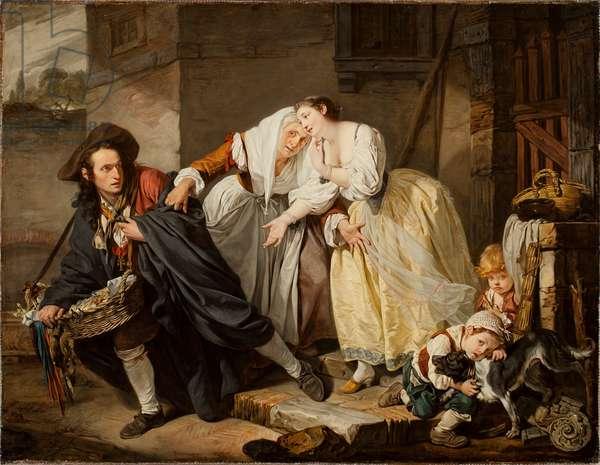 Le Geste Napolitain, 1757 (oil on canvas)