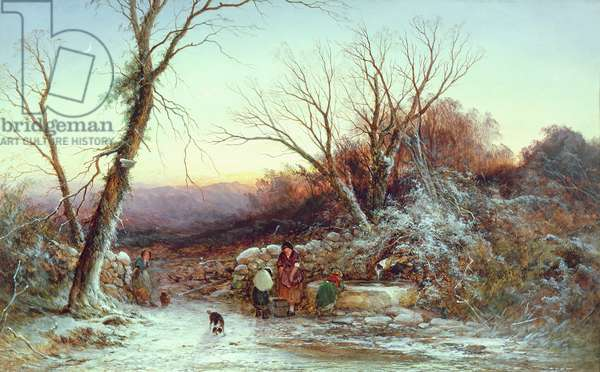 The Roadside Spring: Winter's Evening