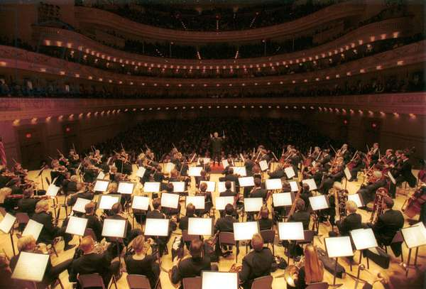 The Carnegie Hall during