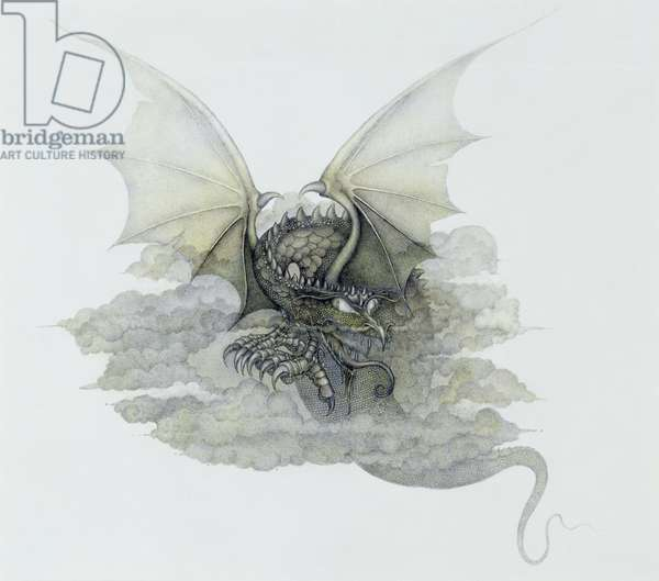 A Dragon that is Cloudlike, 1979 (mixed media)