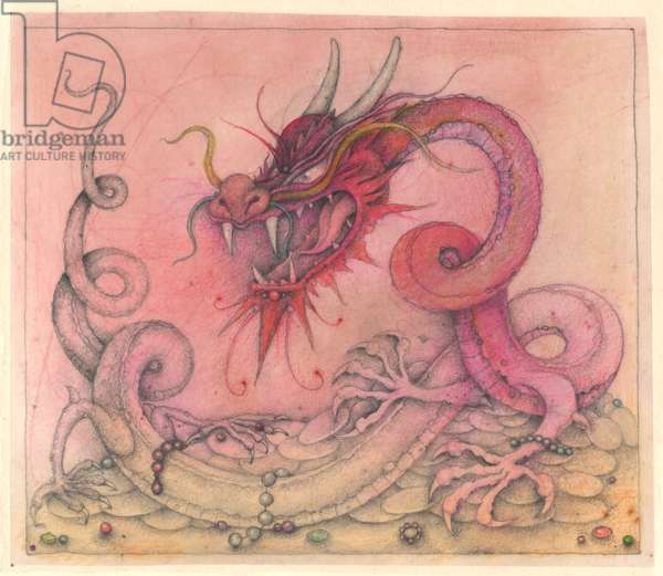Wicked Dragon, 2000, Mixed Media