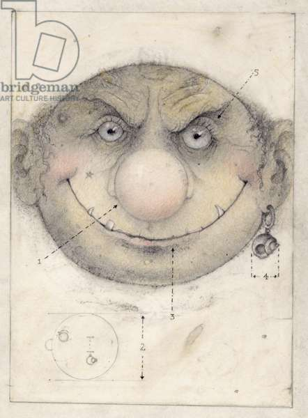 Portrait of a Leprechaune, 1999, Mixed Media