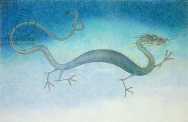 Chinese Dragon, 1979 (mixed media)