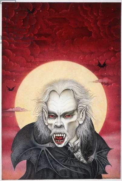 Dracula, 1988 (mixed media)
