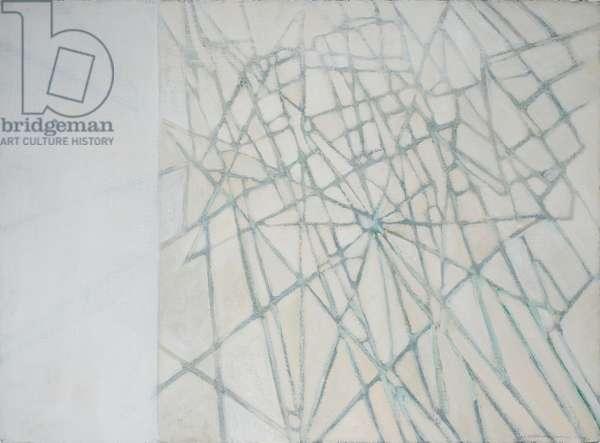White Web, 2002 (acrylic on paper)