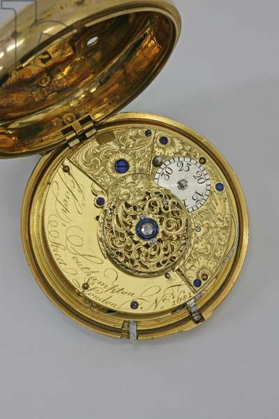 Interior of a watch (brass)