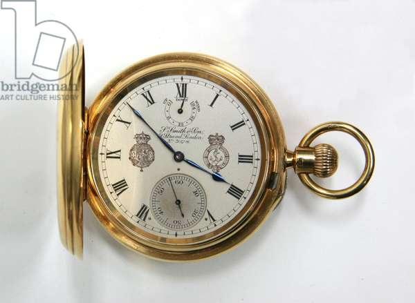 Pocket Watch, signed 'S. Smith & Son', 1907 (mixed media) (see also 323292)