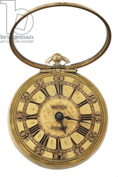 Gretton dial, c.1680 (metal)