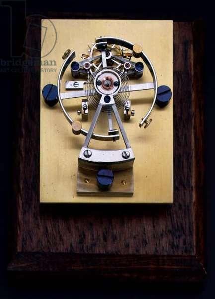 Chronometer escapement by Alan Bennet, 1981