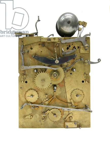 Spring Clock, c.1695 (mixed media)