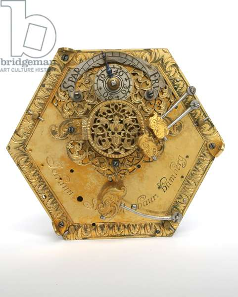 A Table Clock (mixed media) (see also 314926)