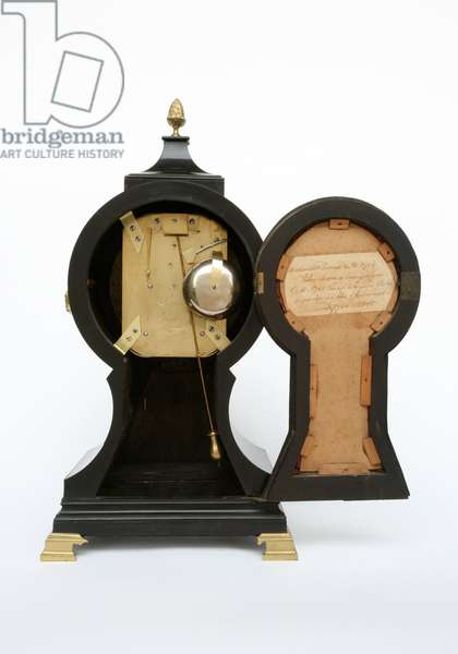 Balloon Clock, c.1760 (brass & ebonised fruitwood)