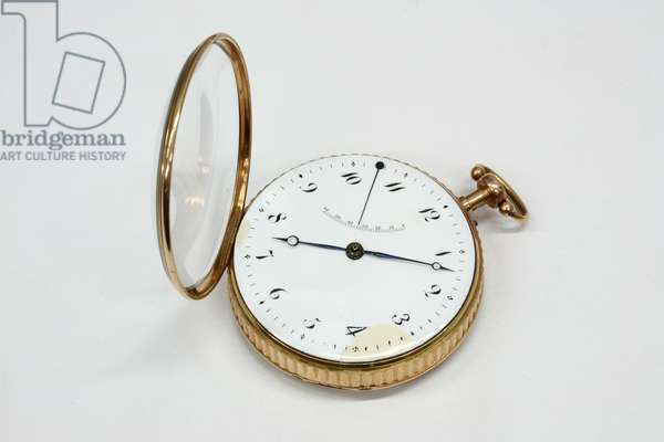 'Perpetuelle' watch, 1783 (gold case)