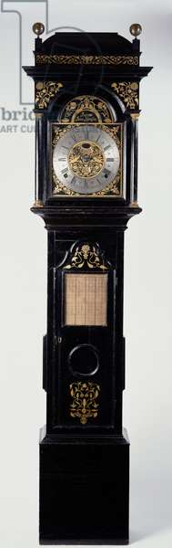 John Harrison's personal regulator, containing three of his inventions: oil-free bearings, 'Grasshopper' friction-free escapement and a temperature compensated pendulum, 18th century