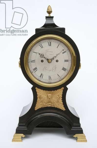 Balloon Clock, c.1760 (brass & ebonised fruitwood)