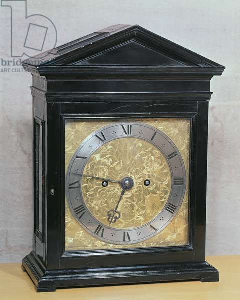 Eight-day clock by Samuel Knibb (1626-70)