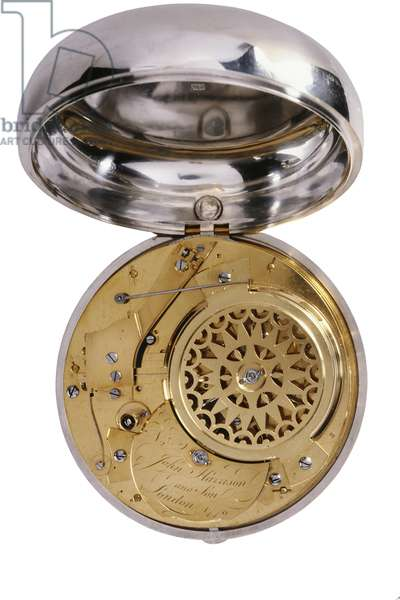Movement of a marine watch, by John Harrison and Son, 1770, London (brass) (see also 71015 & 71016)