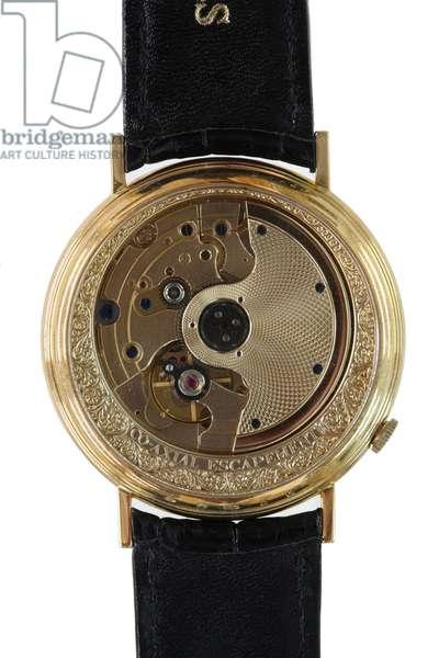 Reverse of the Daniels Millenium Watch (mixed media)