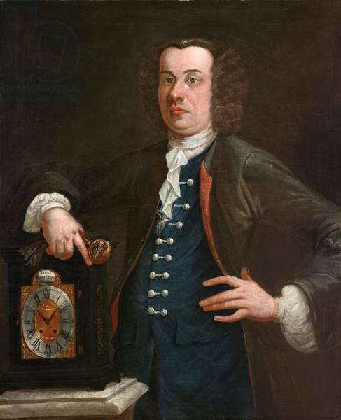 Edward Scrivener, c.1750 (oil on canvas)