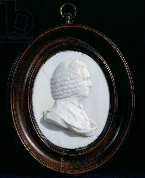 Portrait of John Harrison (1693-1776) (enamel paste)