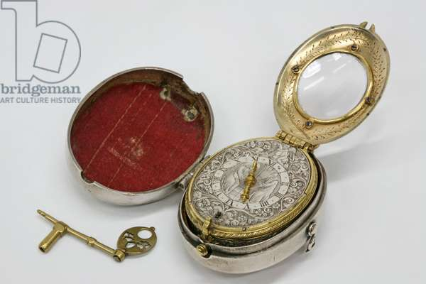 Watch by James Vautrolier, London, c. 1630 (mixed media)