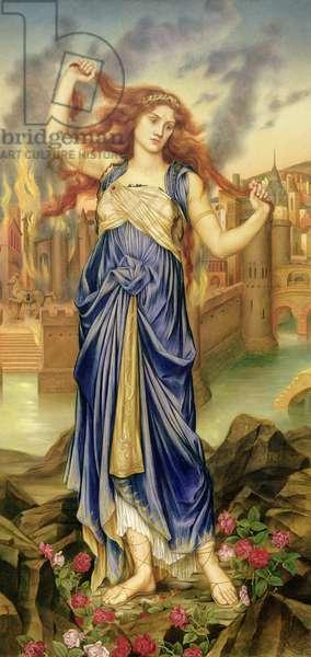 Cassandra, 1898 (oil on canvas)