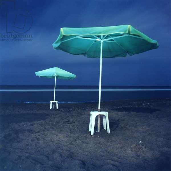 Umbrella, Amondara, Heraklion, Greece, 2002 (photo)