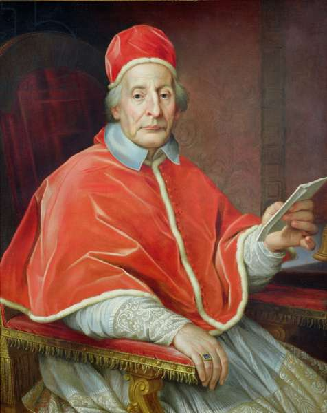 Portrait of Pope Clement XII